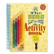 The Only Coloring, Puzzle, Game, Dot-to-dot, Activity Book Youll Ever Need Scholastic Inc.
