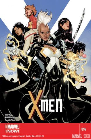 X-Men #16  by  Brian Wood