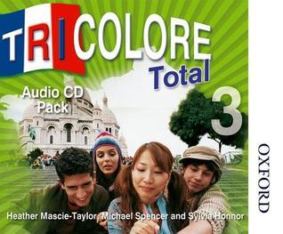 Tricolore Total 3 Audio CD Pack (5x Class CDs 1x Student CD)  by  S. Honnor