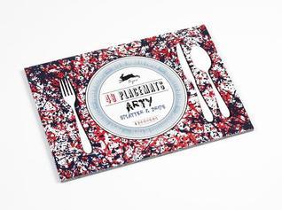 Arty Splatter & Drips: 48 Placemats: 6 Designs Pepin Van Roojen