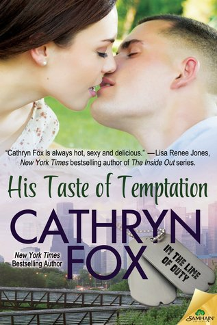His Taste of Temptation (In the Line of Duty, #3) Cathryn Fox