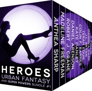 HEROES Urban Fantasy and Super Powers Bundle #1 T. Paulin