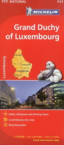 Grand Duchy of Luxembourg (Maps/Country  by  Michelin Travel & Lifestyle