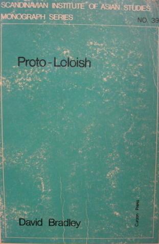 Proto-Loloish  by  David Bradley