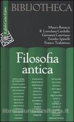 Filosofia antica  by  Mauro Bonazzi