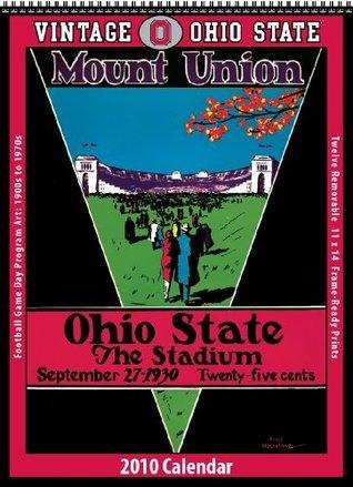 Vintage Ohio State Buckeyes 2010 Football Program Calendar Asgard Press