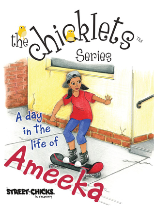 The Chicklets Series A day in the life of Ameeka  by  Leslie Robinson