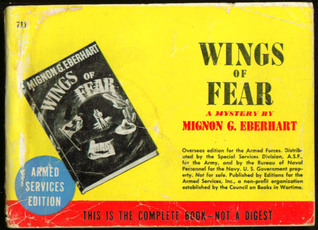 Wings of Fear  by  Mignon G. Eberhart