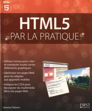 HTML5 par la pratique  by  Jeremy Osborn