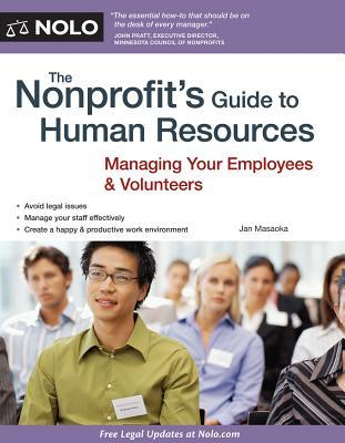 The Nonprofits Guide to Human Resources Jan Masaoka