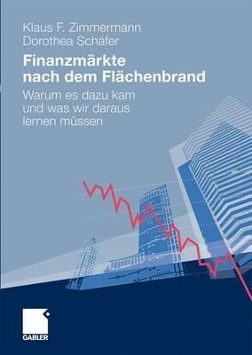 Finanzmarkte Nach Dem Flachenbrand: Warum Es Dazu Kam Und Was Wir Daraus Lernen Mussen Klaus F. Zimmermann