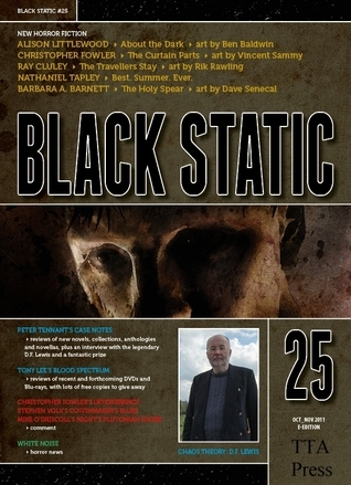 Black Static #25 Horror Magazine  by  TTA Press