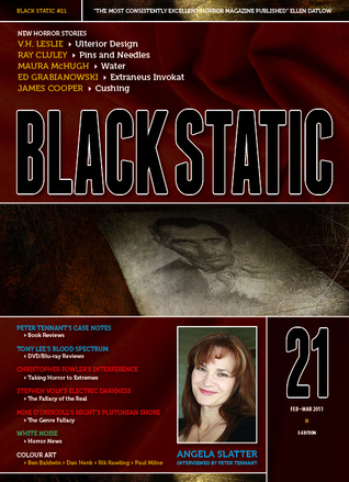 Black Static #21 Magazine  by  TTA Press
