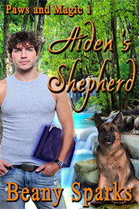 Aidens Shepherd (Paws and Magic #1) Beany Sparks