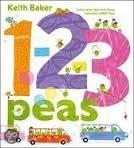 1,2,3 Peas Keith  Baker