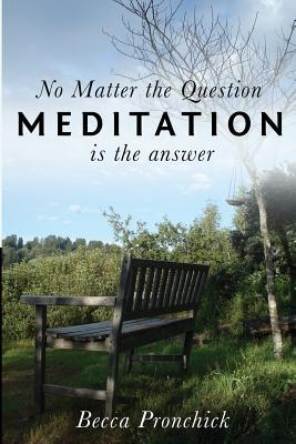 No Matter the Question, Meditation Is the Answer  by  Becca Pronchick