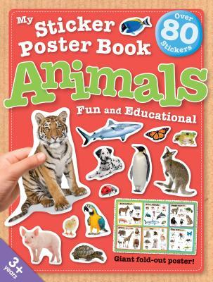 My Sticker Poster Book Animals  by  Green Andriod