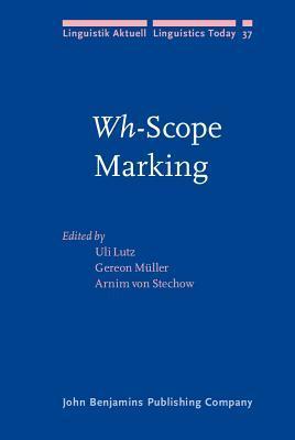 Wh-Scope Marking Uli Lutz
