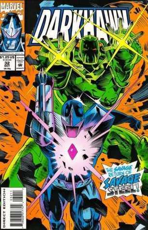 Savage Return (Darkhawk, #32)  by  Danny Fingeroth