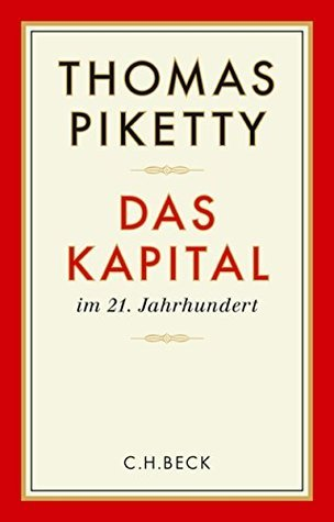 Das Kapital im 21. Jahrhundert  by  Thomas Piketty