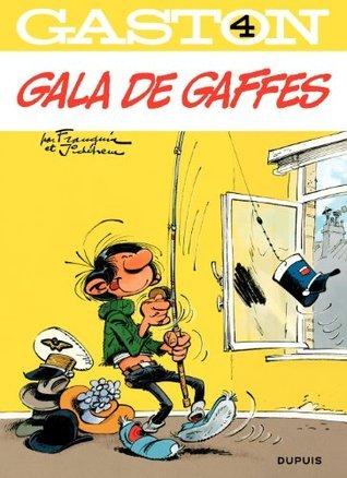Gaston - tome 04 - Gala de gaffes André Franquin