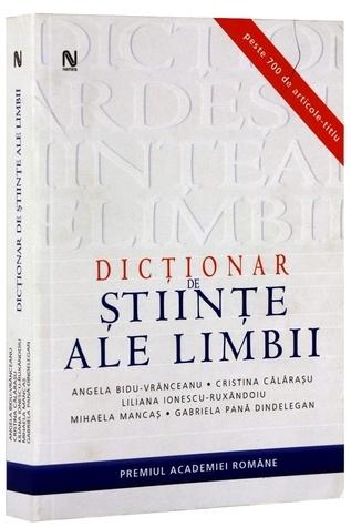 Dicționar de științe ale limbii  by  Angela Bidu-Vrănceanu