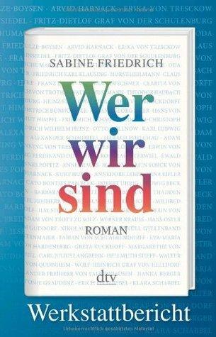 Wer wir sind. Werkstattbericht  by  Sabine Friedrich