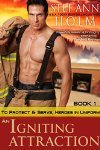 An Igniting Attraction (To Protect and Serve, Heroes in Uniform, #1)  by  Stef Ann Holm