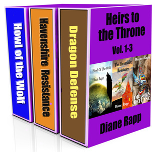 Heirs to the Throne Trilogy: Vol. 1-3  by  Diane Rapp