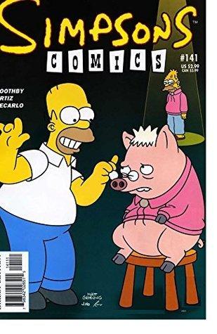 Simpsons Comics 141  by  Ralph Silva