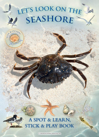 Lets Look on the Seashore: A Spot & Learn, Stick & Play Book  by  Andrea Charlotte Pinnington