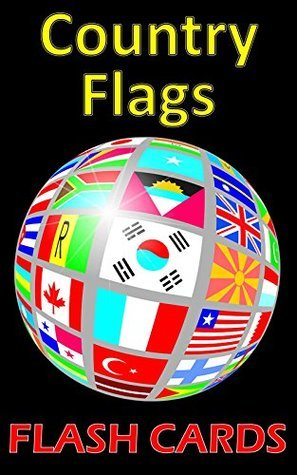 Country Flag Flash Cards: Double Sided with Color!  by  Lionshare Media