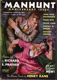 Manhunt January 1954 John Mcloud
