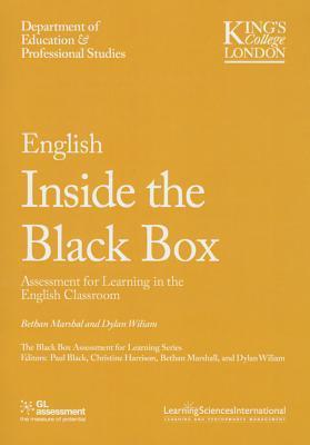 English Inside the Black Box: Assessment for Learning in the English Classroom Bethan Marshall