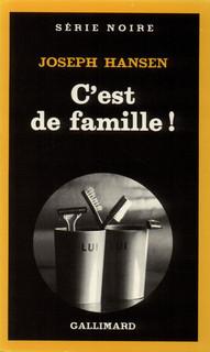 Cest de famille!  by  Joseph Hansen