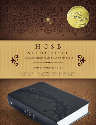 HCSB Study Bible, Charcoal LeatherTouch, Indexed Holman Bible Staff