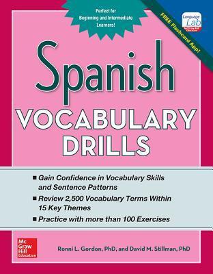 Spanish Vocabulary Drills Ronni Gordon