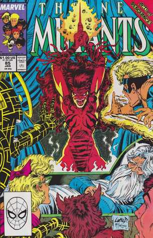 The Killing Stroke (New Mutants, #85) Louise Simonson