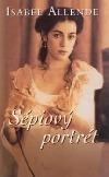 Sépiový portrét Isabel Allende