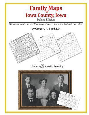 Family Maps of Iowa County, Iowa Gregory A.  Boyd