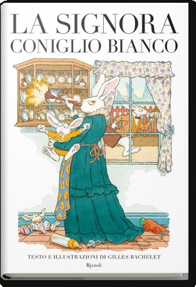 La signora Coniglio Bianco  by  Gilles Bachelet