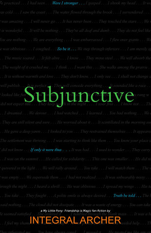 Subjunctive  by  Integral Archer