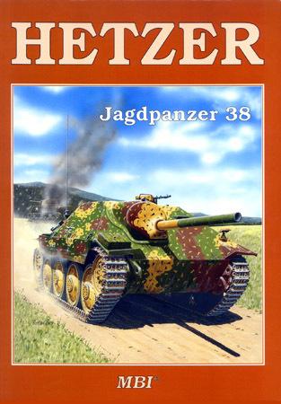 MBI Profiles Series #12 Hetzer - Jagdpanzer 38 Vladimir Francev