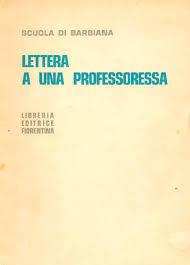 Lettera a una professoressa  by  Lorenzo Milani
