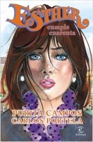 Esther cumple cuarenta Purita Campos y Carlos Portela