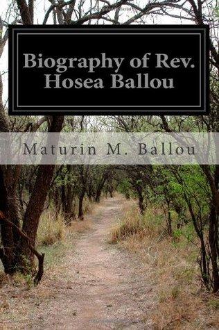 Biography of REV. Hosea Ballou  by  Maturin M. Ballou