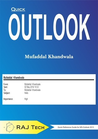 Quick Outlook Mufaddal Khandwala
