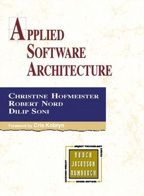 Applied Software Architecture  by  Christine Hofmeister