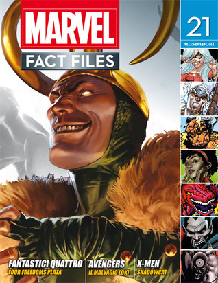 Marvel Fact Files n. 12  by  John Tomlinson