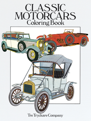 Classic Motorcars Coloring Book Tre Tryckare Co.